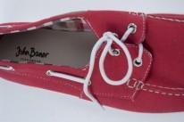 Modne buty czerwone John Baner